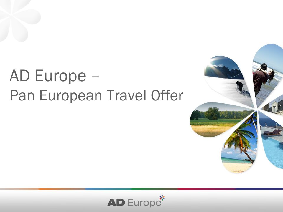 AD Europe – Pan European Travel Offer