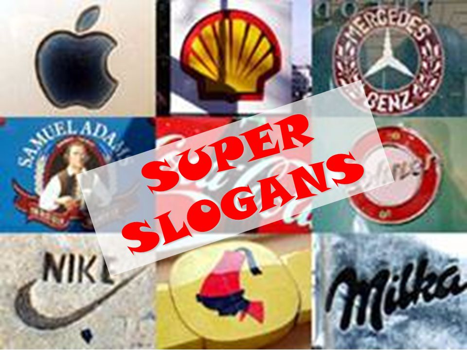SUPER SLOGANS