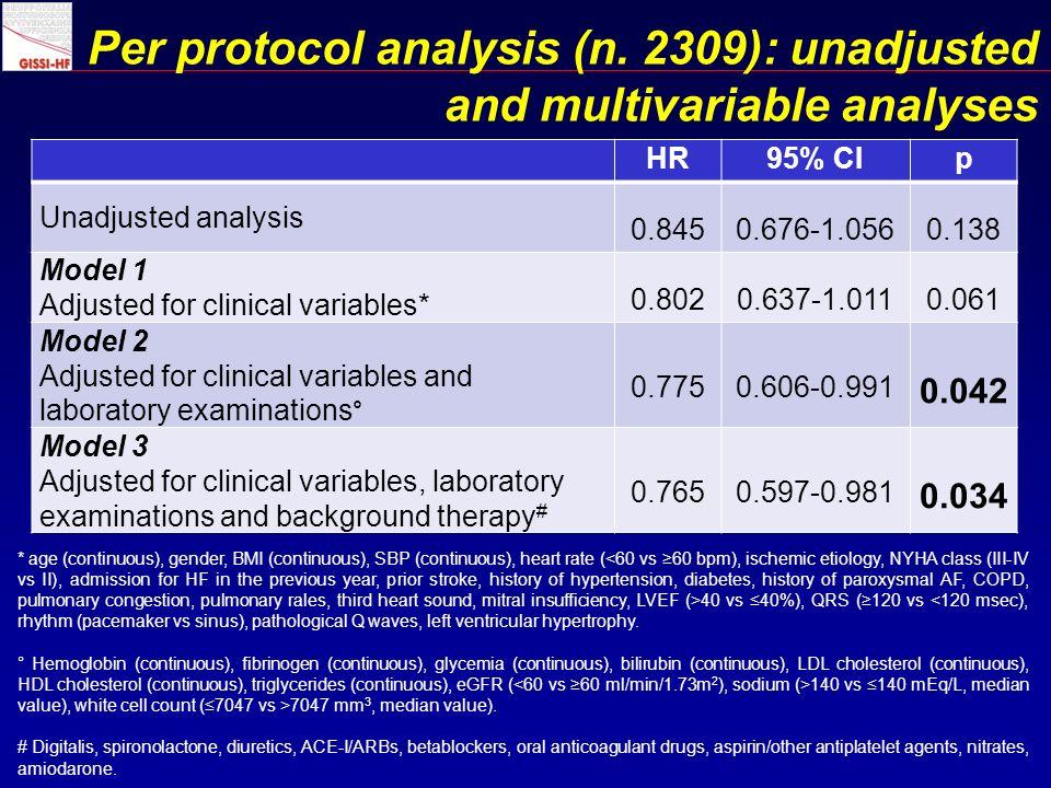 Per protocol analysis (n.
