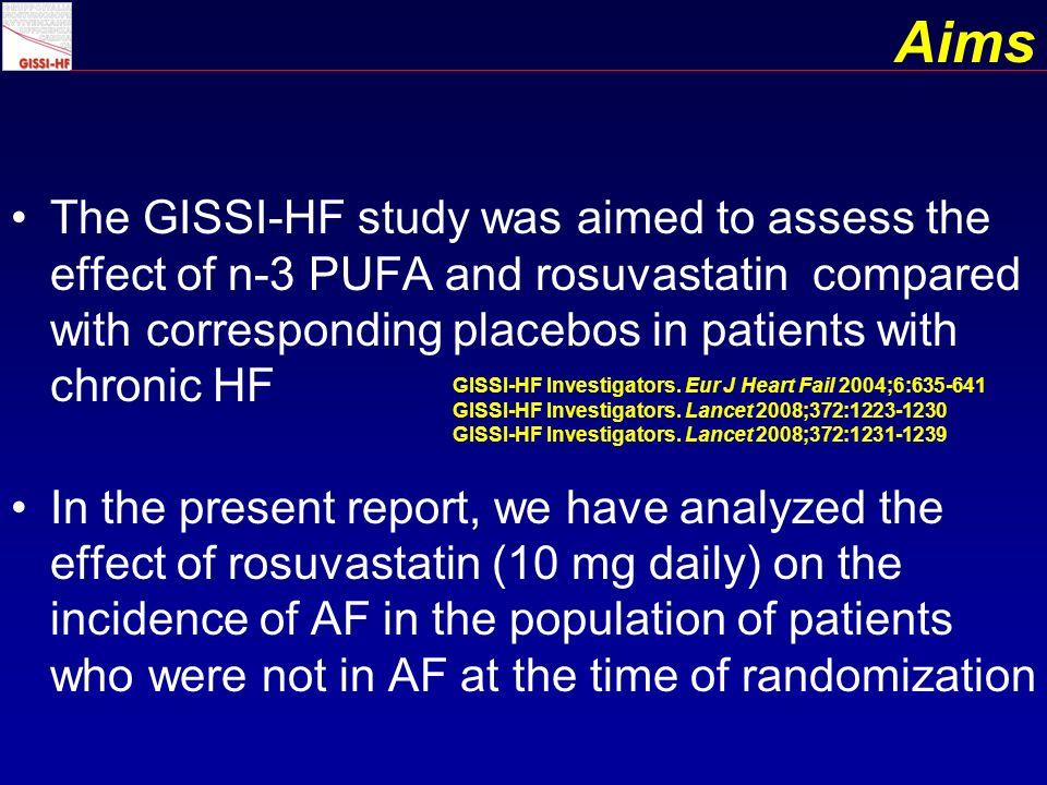 AF vs No AF: Lipid profile AF during study (n.552) No AF during study (n.