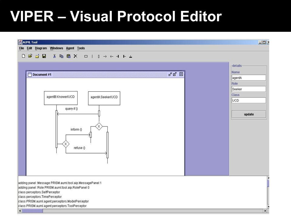 2003 © ChangingWorlds Ltd. VIPER – Visual Protocol Editor