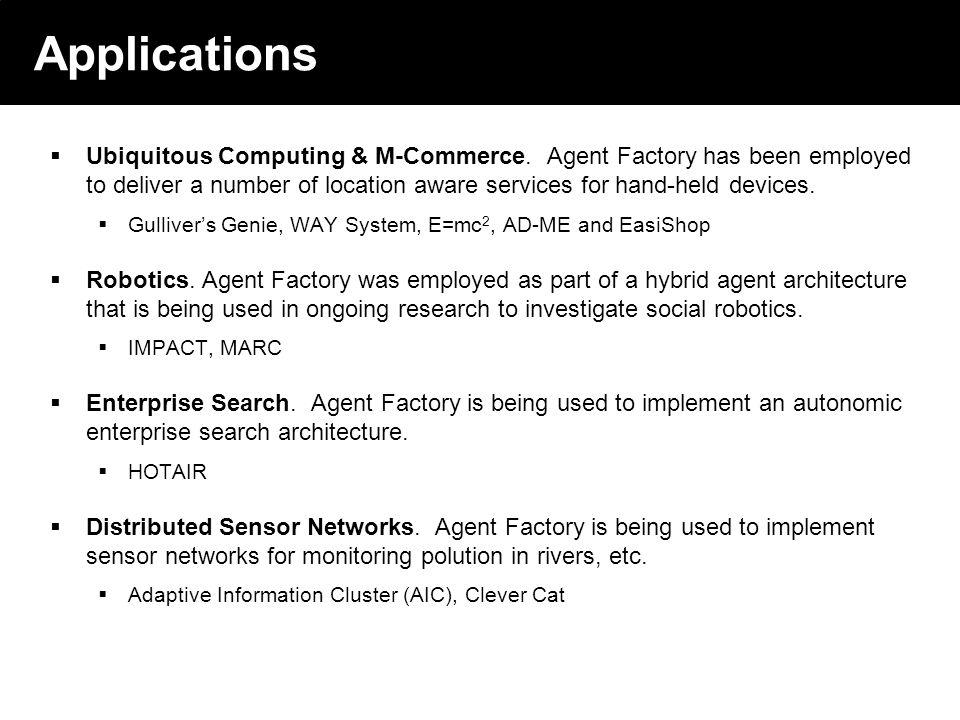 2003 © ChangingWorlds Ltd. Applications Ubiquitous Computing & M-Commerce.