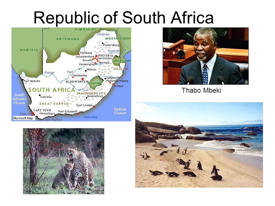 Republic of South Africa Thabo Mbeki