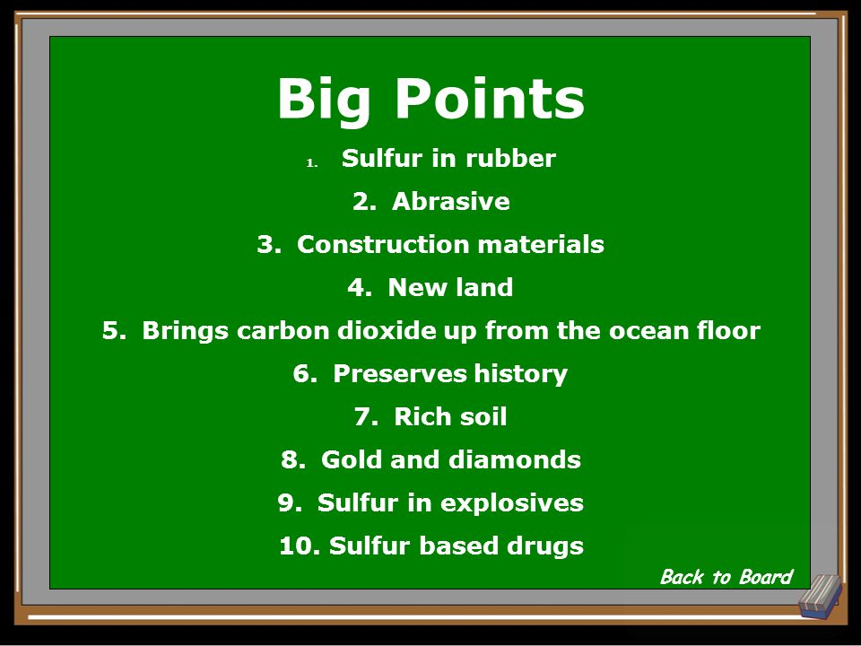 Big Points What are positive aspects of volcanoes.