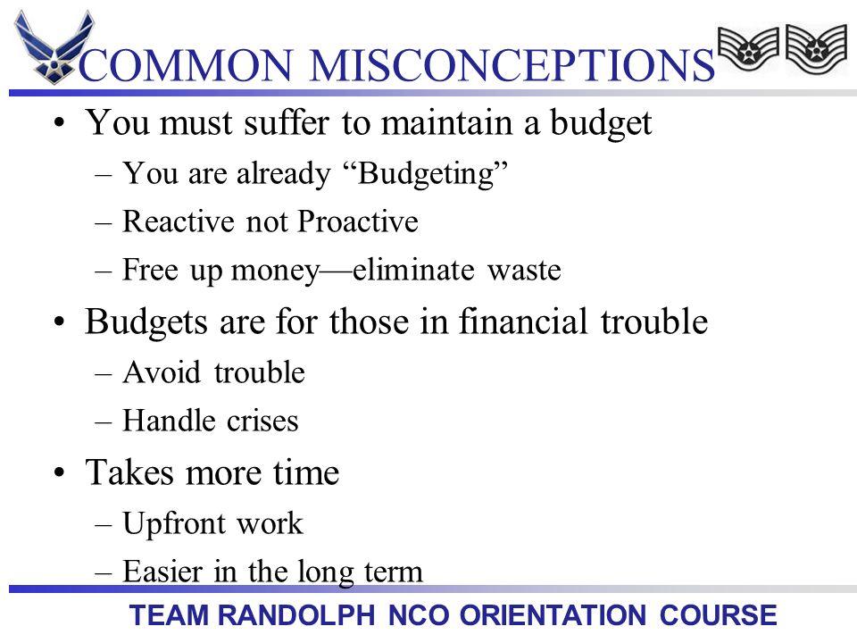 TEAM RANDOLPH NCO ORIENTATION COURSE Questions?