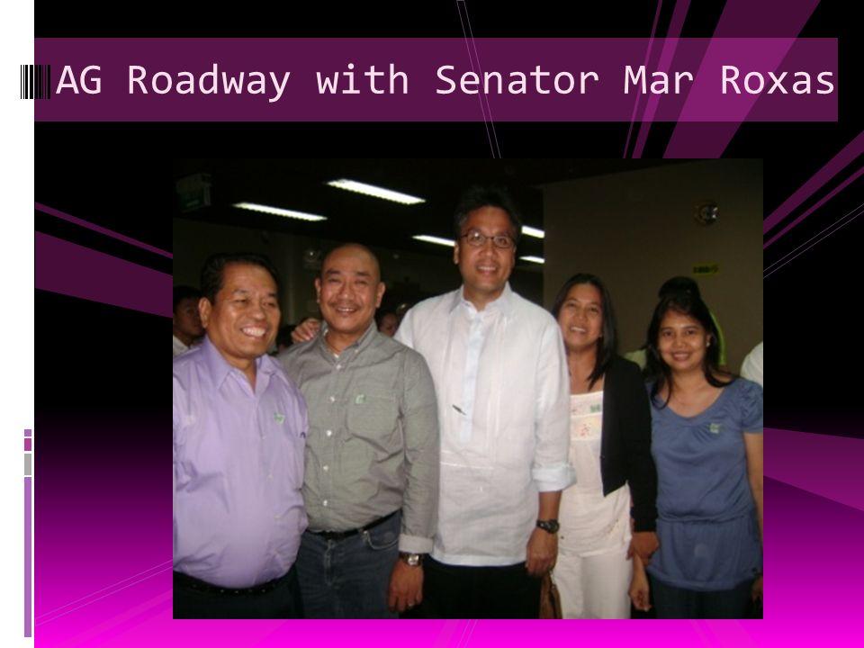 Senator Villar With AG Roadway Corporate Officers