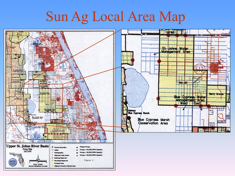 Sun Ag Local Area Map