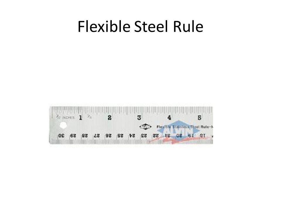 Flexible Steel Rule