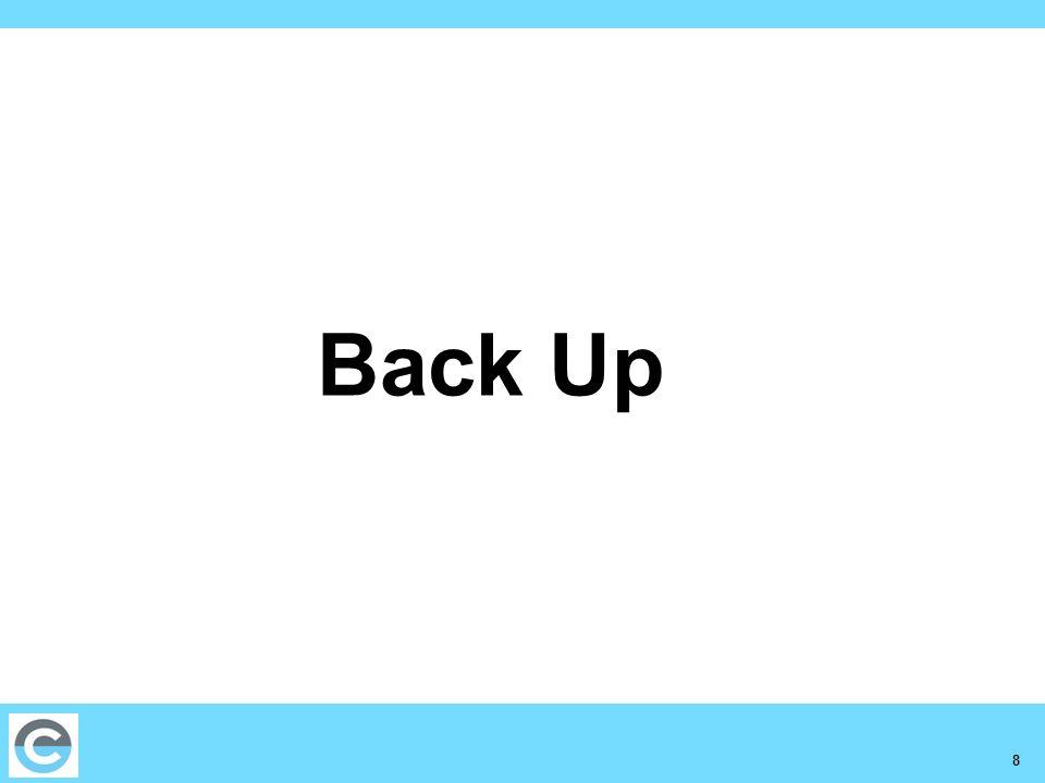 8 Back Up