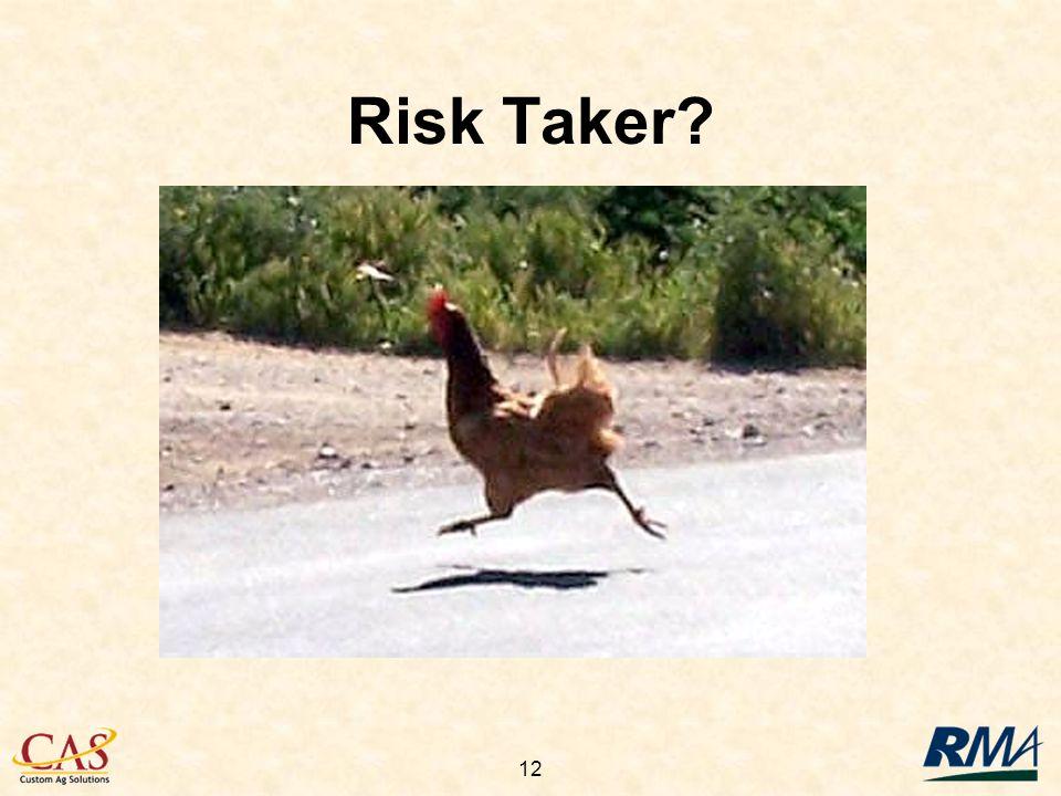 12 Risk Taker?