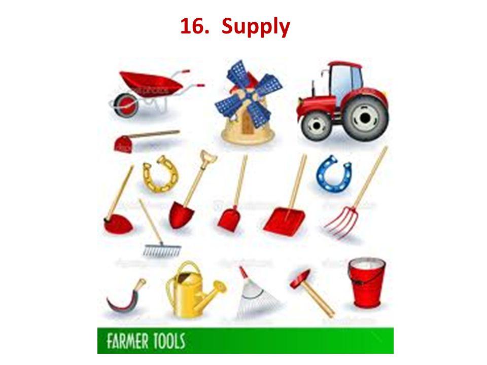 16. Supply