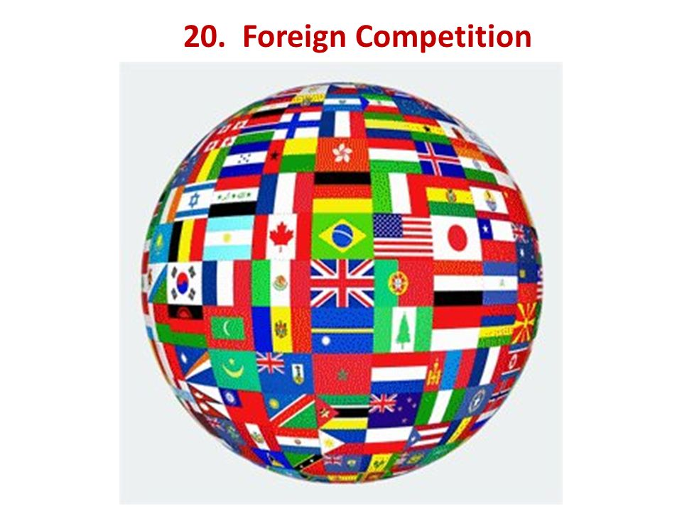 20. Foreign Competition