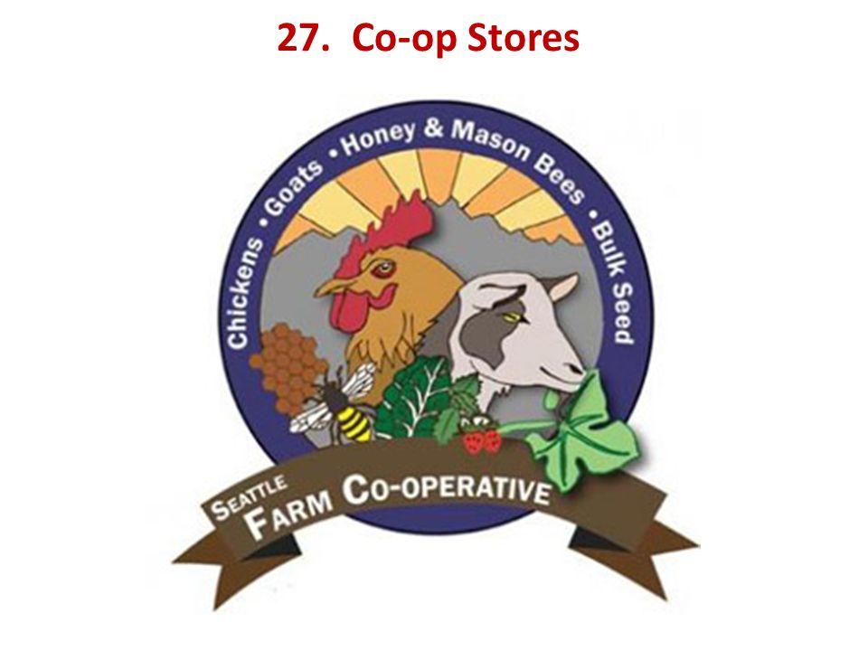 27. Co-op Stores