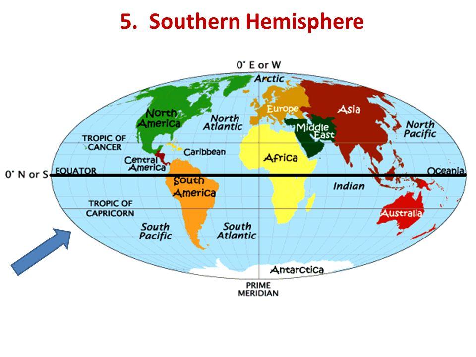 5. Southern Hemisphere