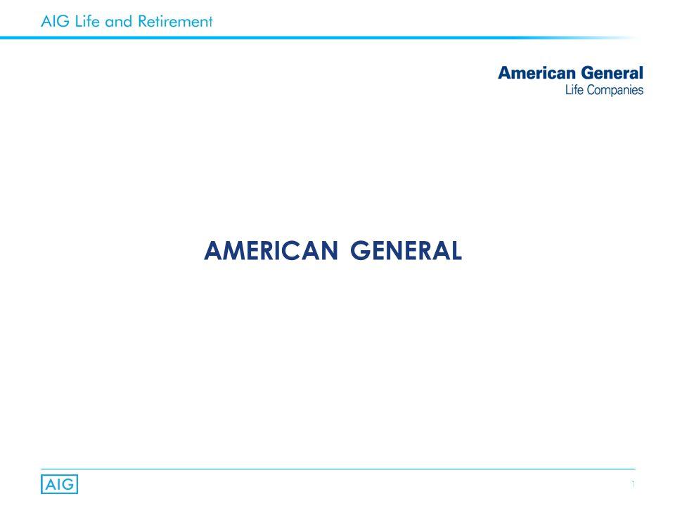 1 AMERICAN GENERAL