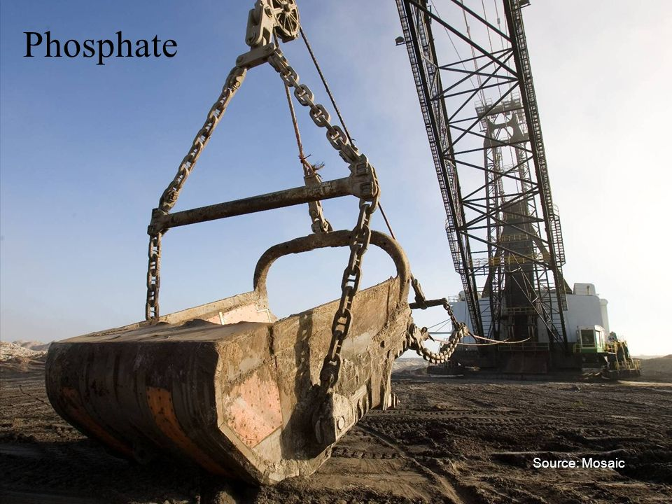 Phosphate Source: Mosaic