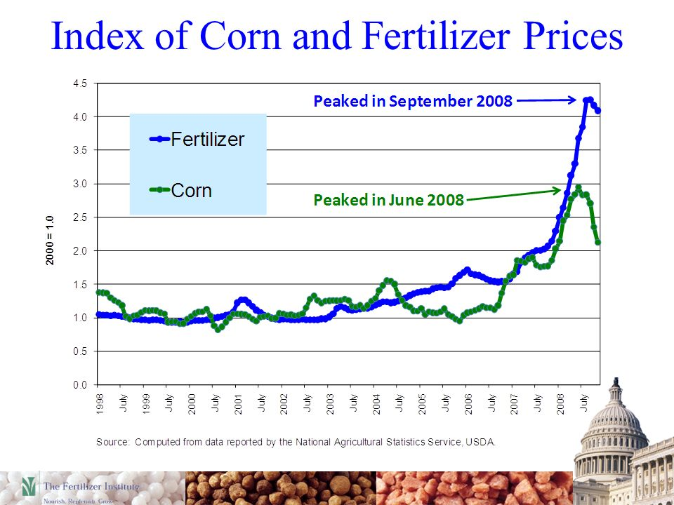 Index of Corn and Fertilizer Prices