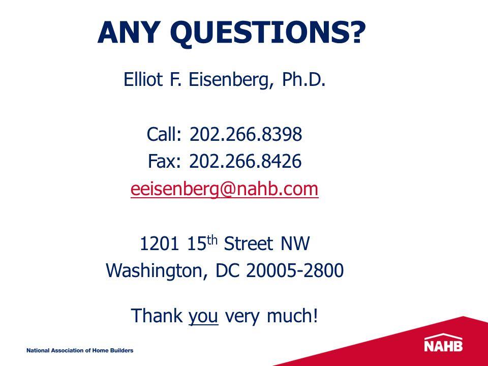 Elliot F. Eisenberg, Ph.D.