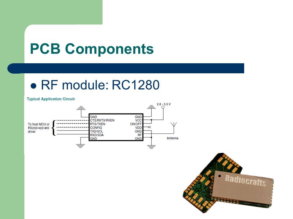 PCB Components RF module: RC1280