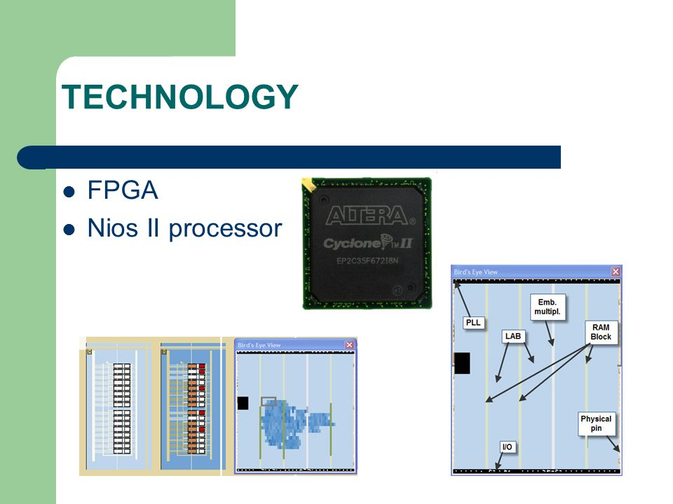 TECHNOLOGY FPGA Nios II processor
