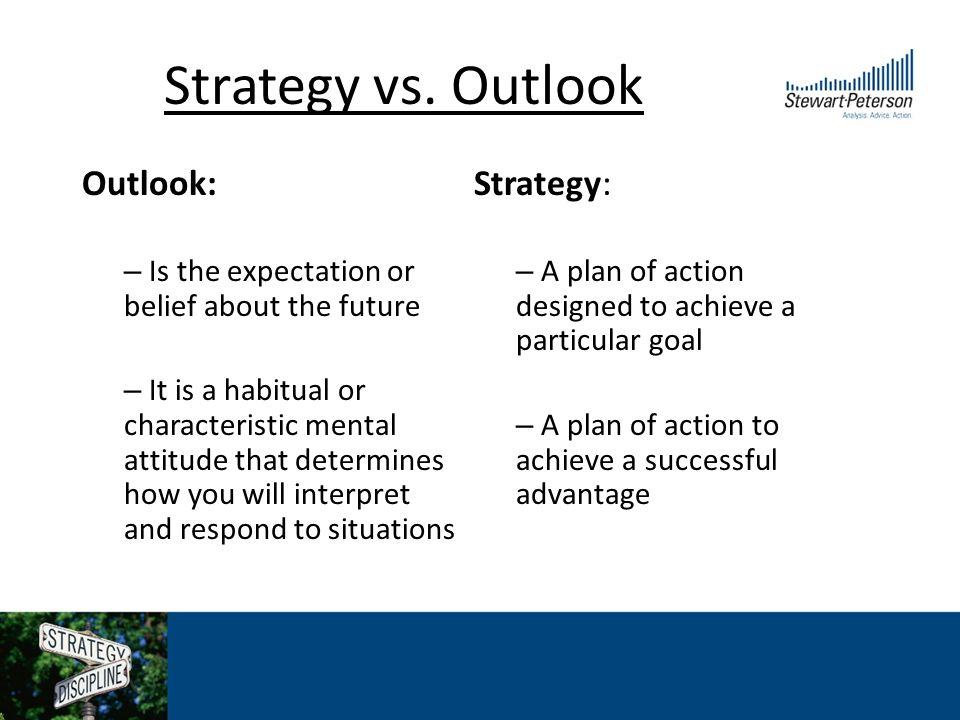 Strategy vs.