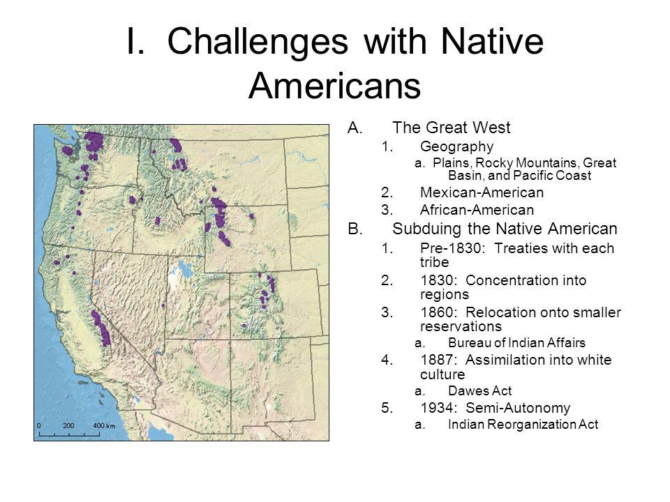 Current Population Density of Native Americans