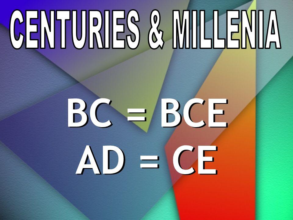 BC = BCE AD = CE