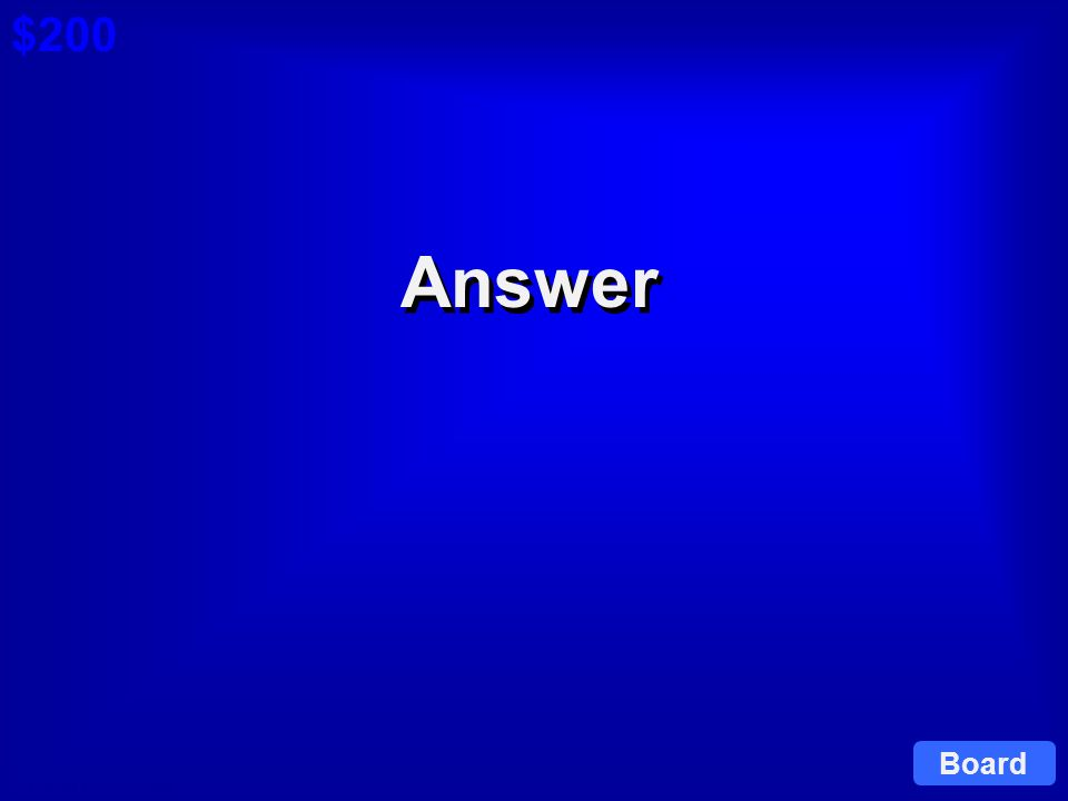 © David A. Occhino Question $200 Cat 6: $200 Q