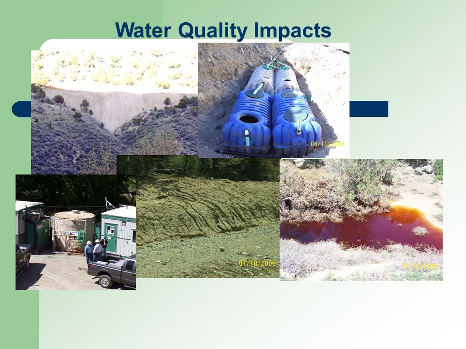 Water Quality Impacts