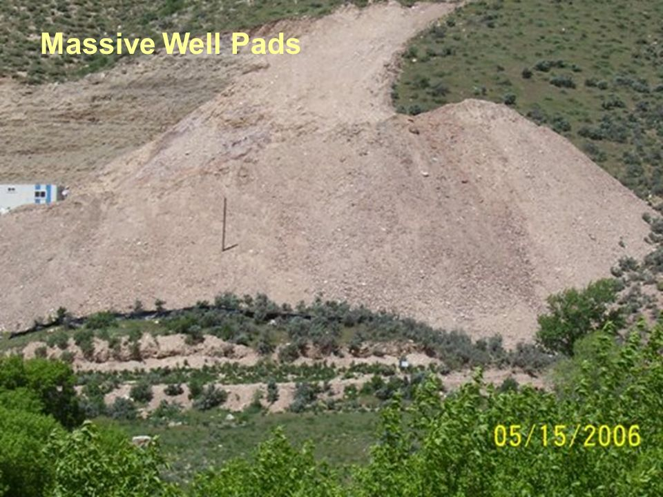 Massive Well Pads