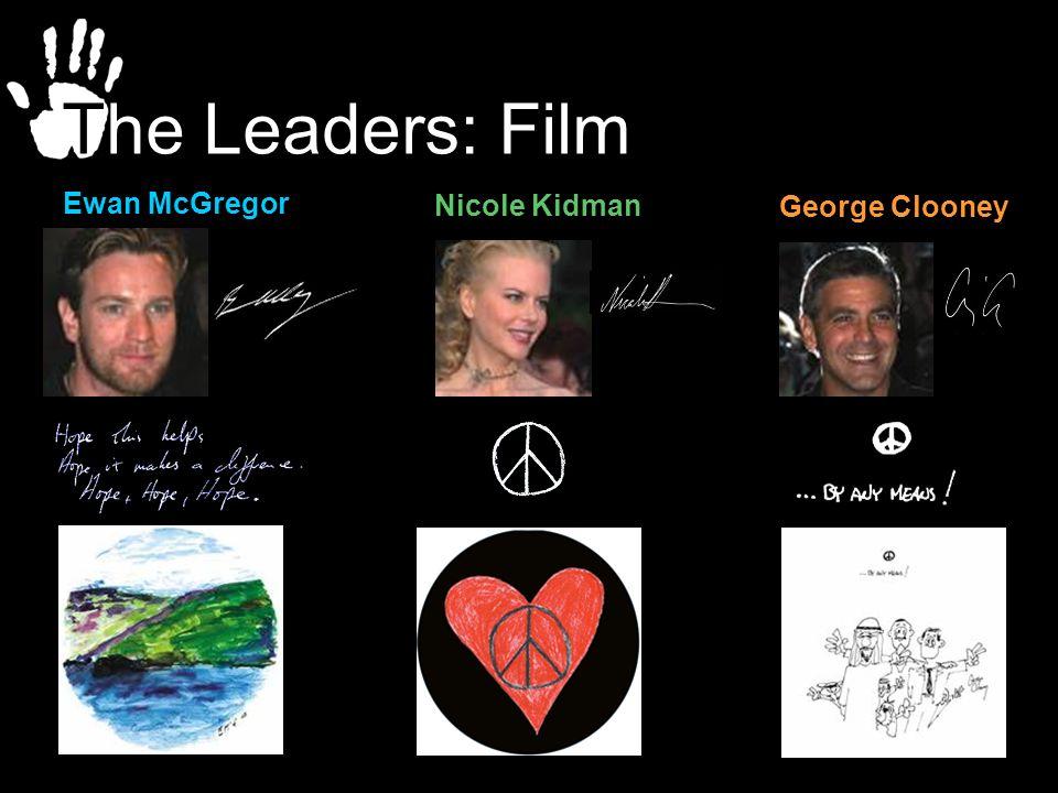 George Clooney Nicole Kidman Ewan McGregor The Leaders: Film