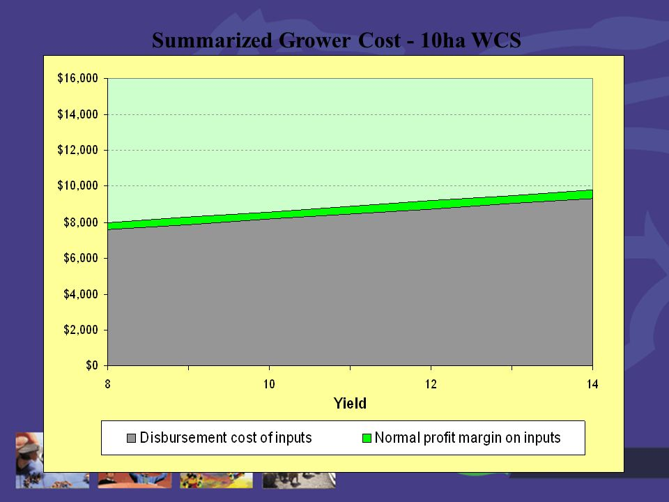 Goldn Hills 28 th Sept Summarized Grower Cost - 10ha WCS