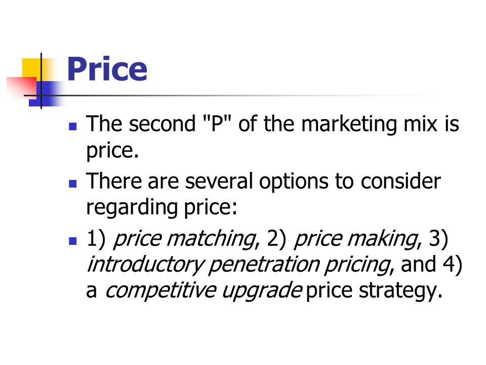 Price The second