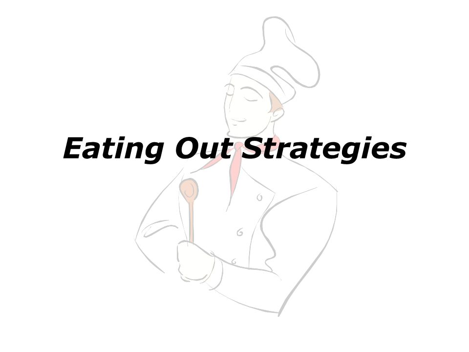 Eating Out Strategies