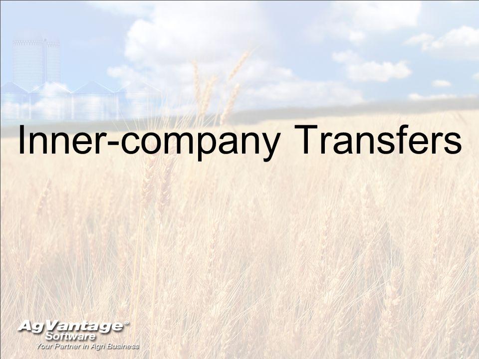 Inner-company Transfers