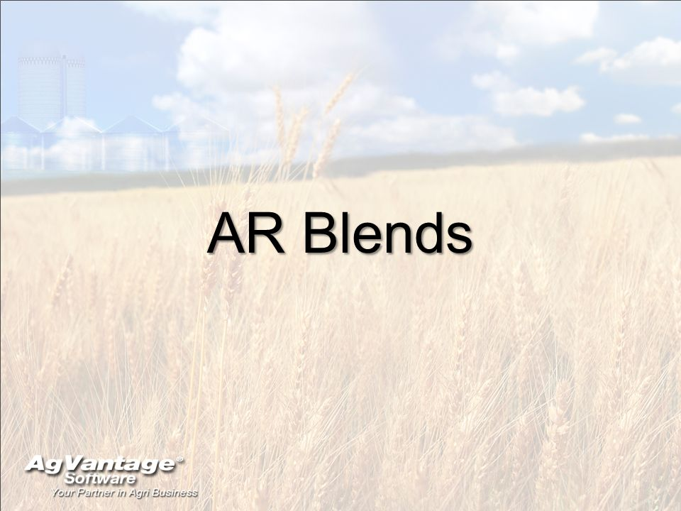 AR Blends