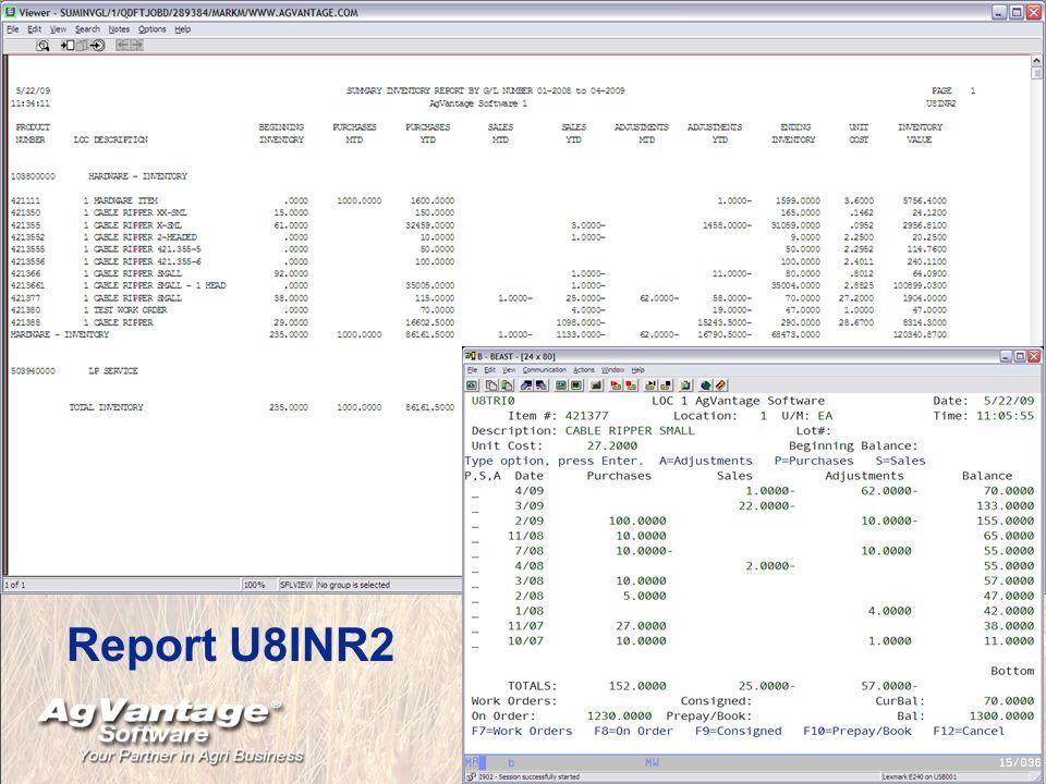 Report U8INR2