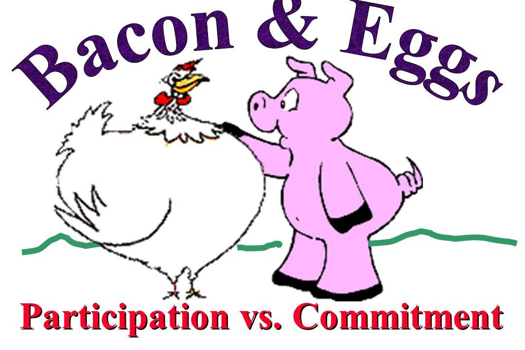 Participation vs. Commitment