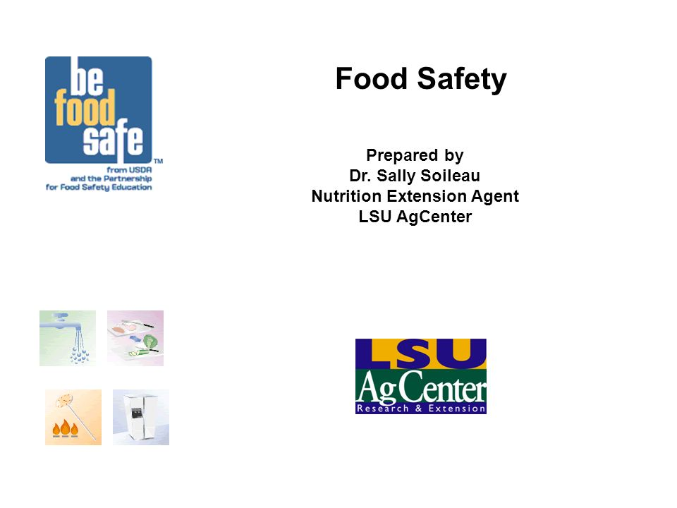 Be Food Safe, Cool At room temperature, bacteria in food can double in 20 minutes.