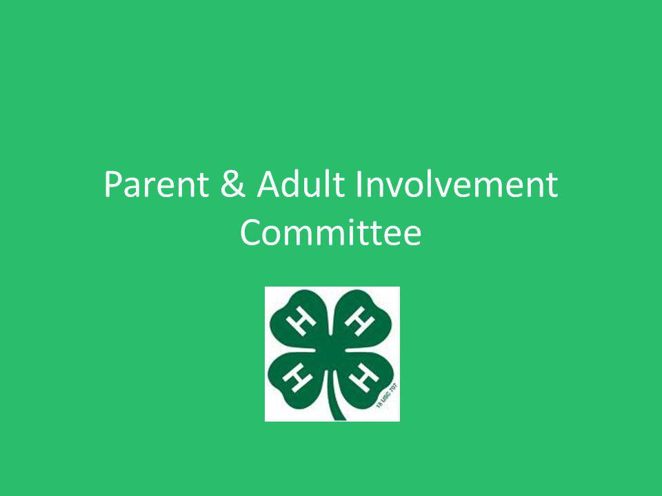 Parent & Adult Involvement Committee