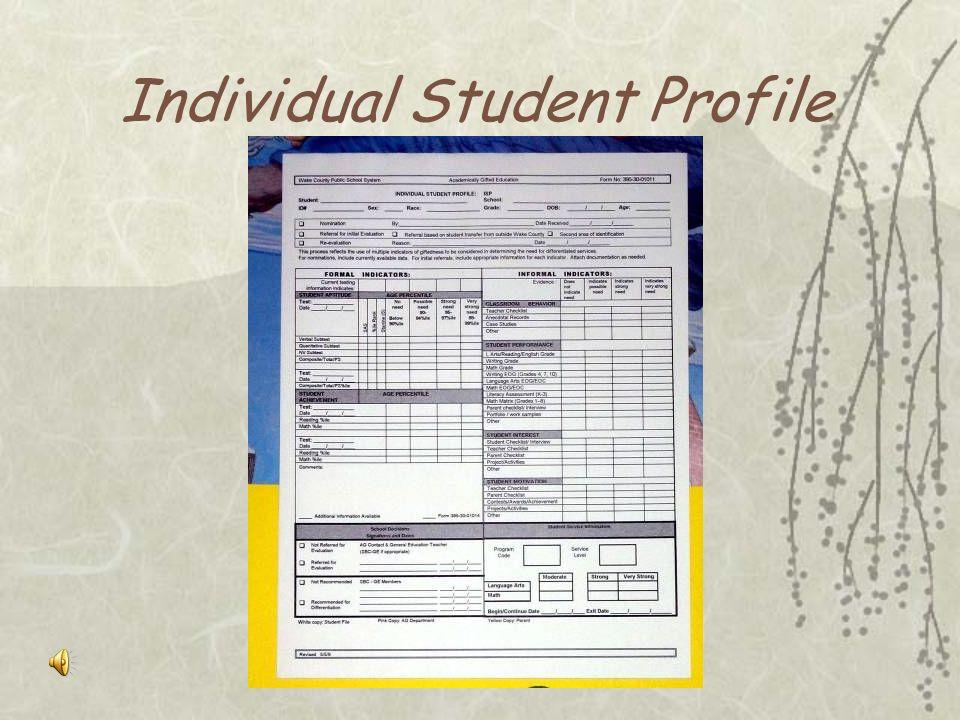 Teacher Observational Checklist for Demonstrated Gifted Learning Behaviors