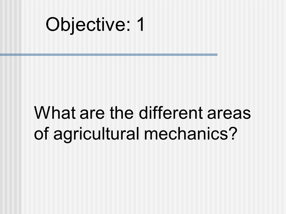 Physical Science The agricultural industry is becoming increasingly technology based.