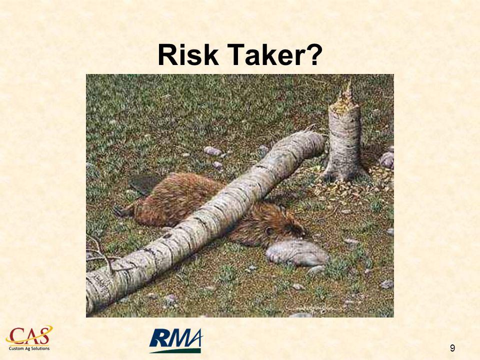 9 Risk Taker?