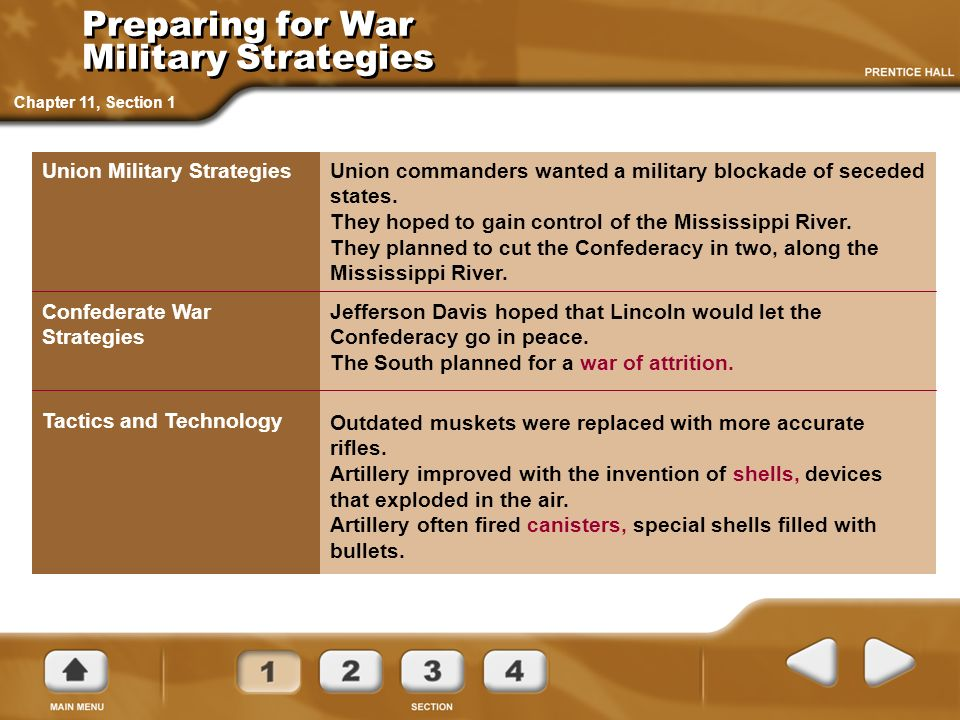 War in the West Chapter 11, Section 1