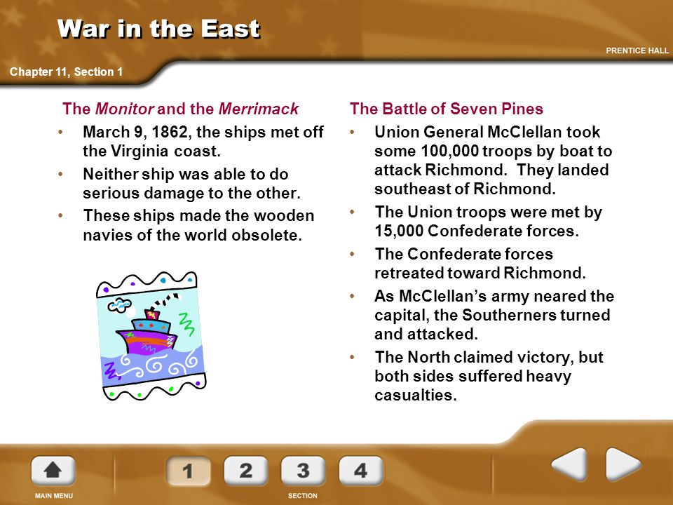 The South Attacks The Battle of Antietam The Confederate forces invaded the North.
