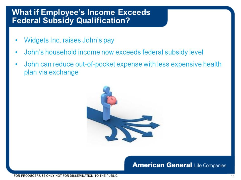 What if Employees Income Exceeds Federal Subsidy Qualification.