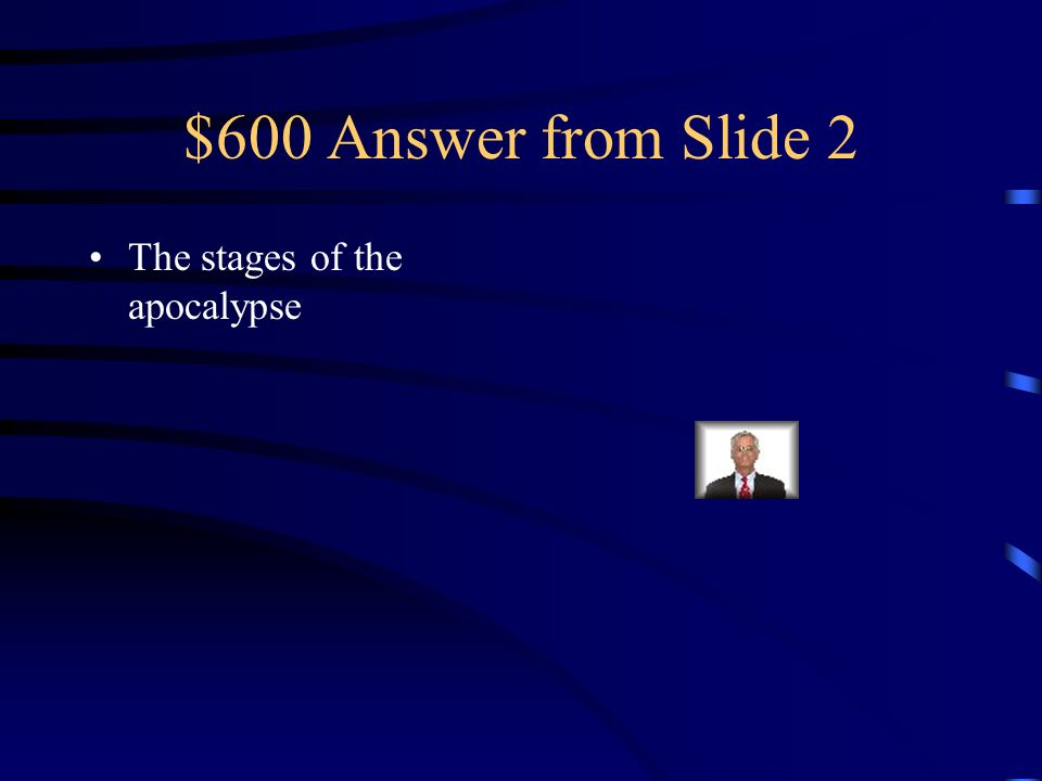 $600 Question from Slide 2 What does it show