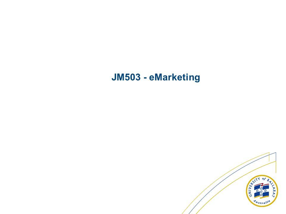 JM503 - eMarketing