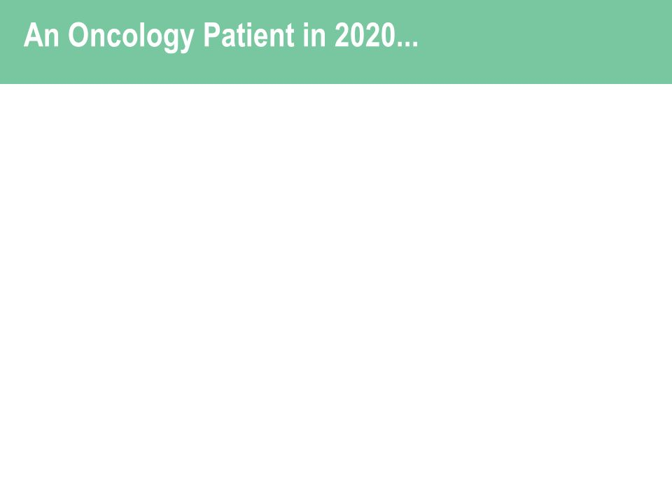 An Oncology Patient in 2020...