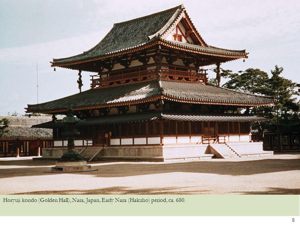 9 Daibutsuden, Todaiji, Japan, Nara period, eighth century, rebuilt, ca. 1700.